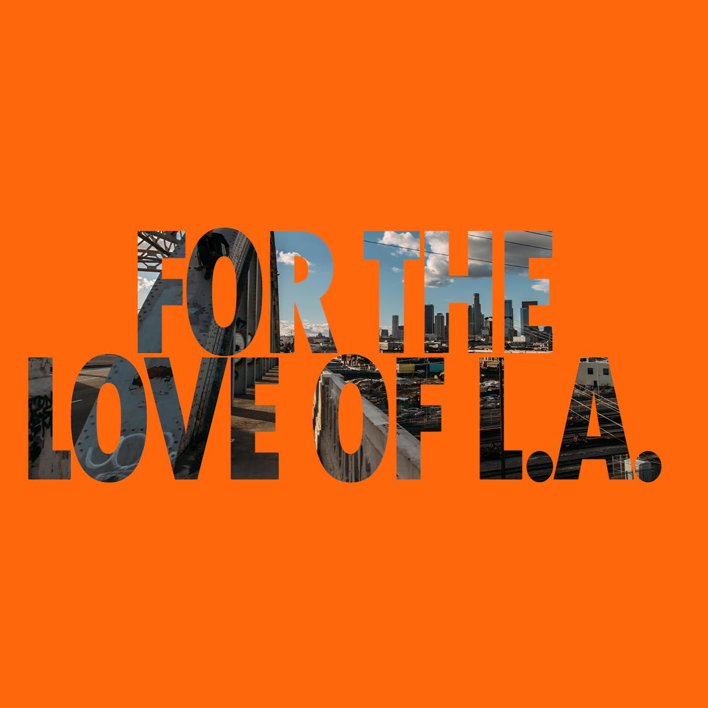 Los Angeles Music Center 'For the Love of LA' logo.