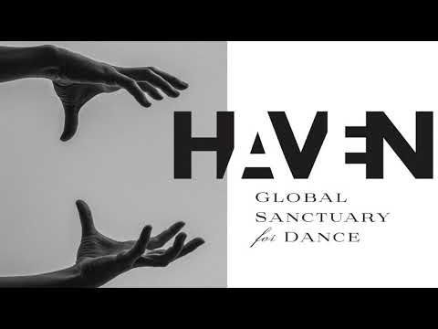 Haven Global Sanctuary for dance logo with hands.