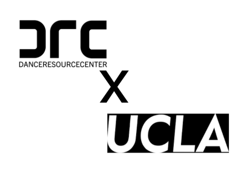 Dance Resource Center homegrown collaboration with the University of California at Los Angeles logo.