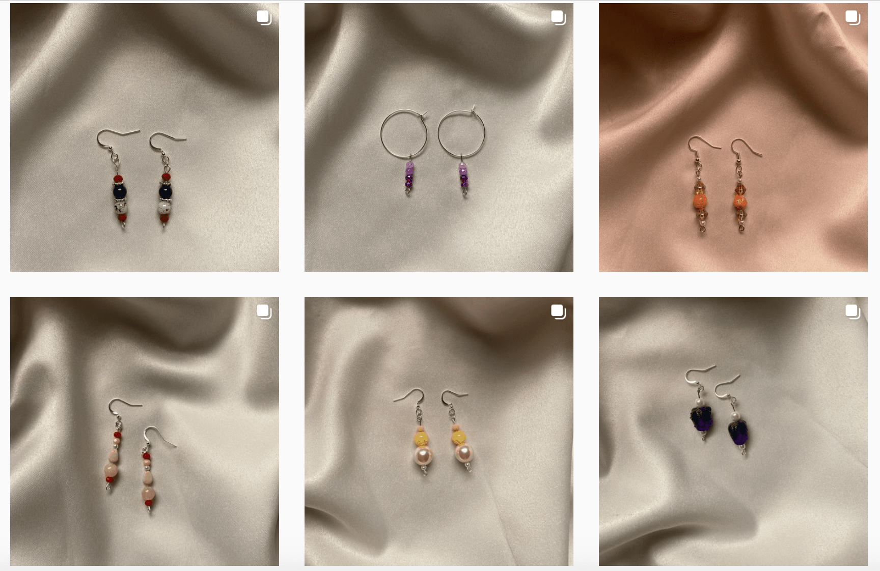 Handmade, lightweight, affordable Zen Girl earings.