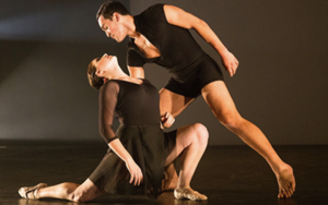 Nicole Berger choreography duet with man holding woman no credit.