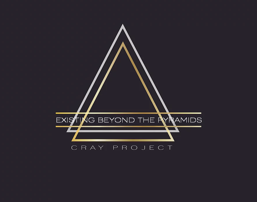 The Cray Project, 'Existing Beyond the Pyramids' logo.