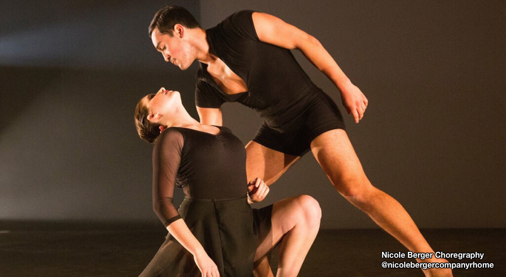 Nicole Berger choreography duet with man holding woman.